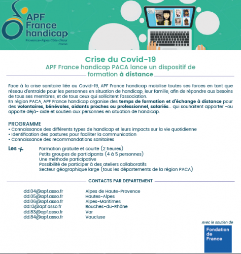 Formation  et atelier d'échange collaboratif APF France handicap Covid 19.png