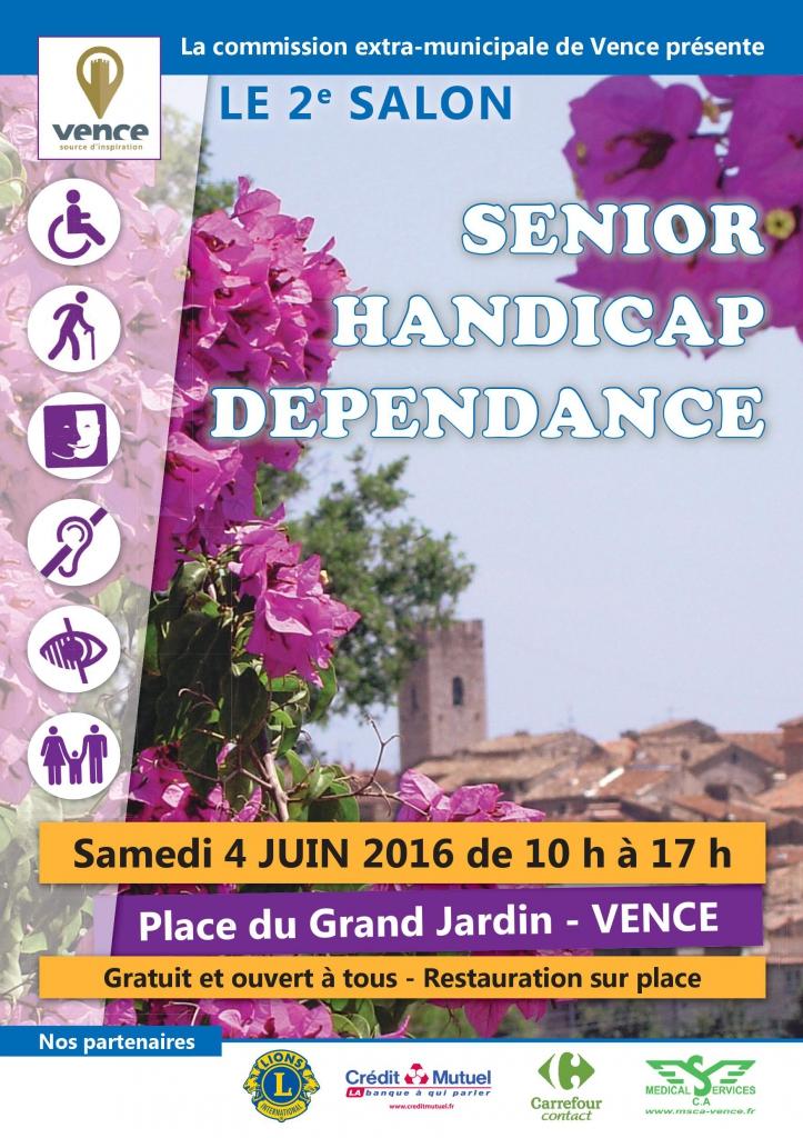Salon senior handicap d pendance vence apf france for Salon du handicap