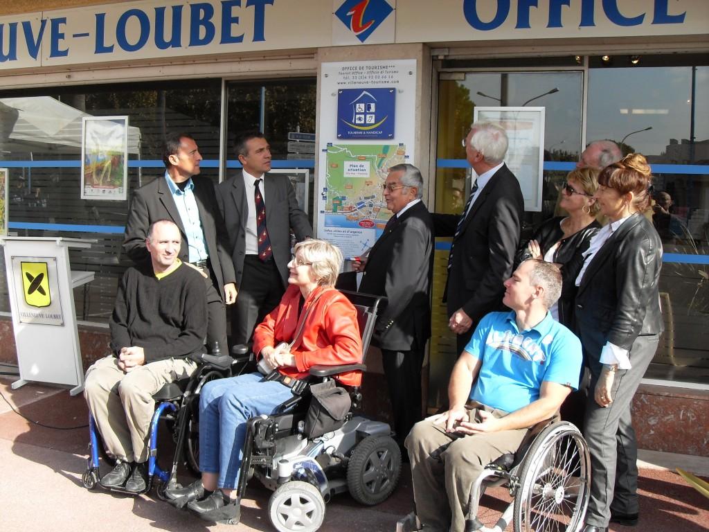 L 39 office du tourisme de villeneuve loubet labellis apf - Office de tourisme de villeneuve d ascq ...